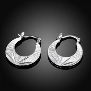 Large Palm Hooped Earrings